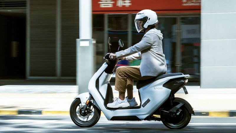 Honda lanzó su primer scooter 100% eléctrico.