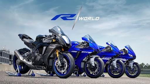 Yamaha R2 de 200 cc a la vista.